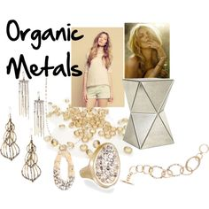 """""""Organic Metals by Chloe and Isabel"""" get the pieces here: https://www.chloeandisabel.com/products/R036G/?m=becka"""