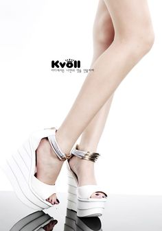Hot & Fashionable Zipper Fish Mouth Kvoll Brand Sandals----White