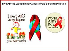World Aids Day is an oppurtunity for people world wide to unite in the fight against HIV!!!!!!