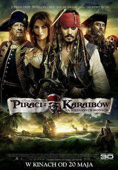 Pirates of the Caribbean: On Stranger Tides 2011 - Johnny Depp, Penelope Cruz, Geoffrey Rush, and Ian McShane. Music by Hans Zimmer. 2011 Movies, All Movies, Great Movies, Disney Movies, Movies To Watch, Movies Online, Movies And Tv Shows, Amazing Movies, Johnny Depp