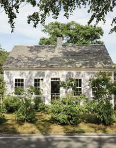 Old Cape Cod:The cottage dates back to 1807 and was owned for many years by two sisters from Boston.