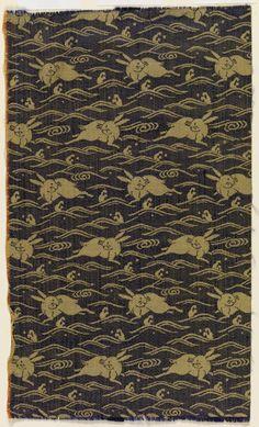 Unknown artist, Japanese 1750 - 1850 silk
