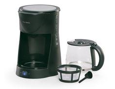 West Bend 12-Cup Coffee Maker, Black