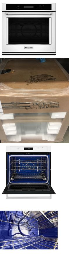 Wall Ovens 71318: Kitchenaid Kodc304ess 24 Stainless Double Electric Wall  Oven Nob Clw #14455  U003e BUY IT NOW ONLY: $2299 On EBay! | Wall Ovens 71318  ...