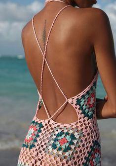 #sexygranny #bisou #knit #knitdress #backless