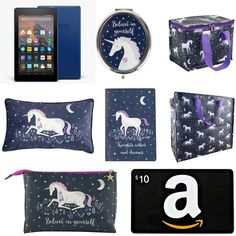 With Love for Books: Kindle Fire 7, Amazon Gift Card and Sass & Belle U...