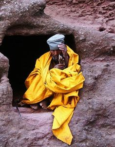 Lalibela monk