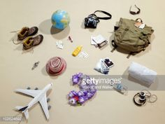 Stock Photo : Still life objects representing holidays
