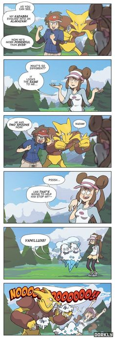 Pokemon... now complete with logic.
