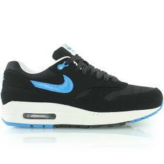 nike AIR MAX 1 PREMIUM black/blue