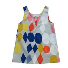 Possibly remix the Grainline tank pattern?