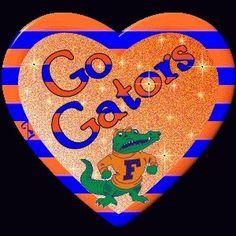 Love the Florida Gators :) Fla Gators, Florida Gators Football, Football Team, College Football, Florida Athletics, College Sport, Football Stuff, University Of Florida Football, Animated Heart