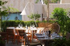 Restaurant Momo at the Souks  Beyrouth  Architecte : Annabel Karim Kassar