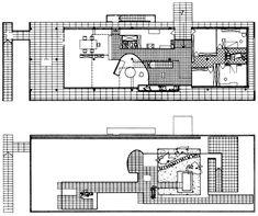 Projet de villa sur un Lac par Giuseppe Terragni (1936)