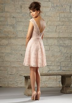 Lace Affairs Bridesmaid Dresses - The Knot