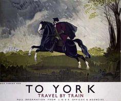 To York by Doris Clare Zinkeisen Fine Art Print