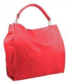 Velká taška na rameno New Berry 9010 červená - Kliknutím zobrazíte detail obrázku.