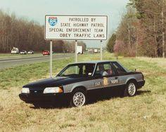 North Carolina State Highway Patrol old Crown Vic Old Police Cars, Ford Police, Police Patrol, North Carolina State Police, North Carolina Highway Patrol, Nc Highway Patrol, Sirens, Radios, Emergency Vehicles