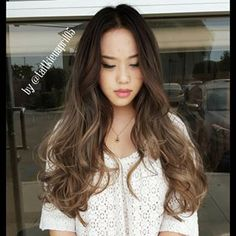 dark ash brown and babylights - Google Search