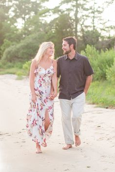 Virginia Beach Engagement Photography by Angie McPherson Photography