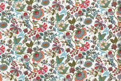 Tana Lawn Classics from Liberty of London: Often imitated, never duplicated. Liberty style is characterized by tender palettes, attractive flowers, and detailed movement. $36.52 per yard