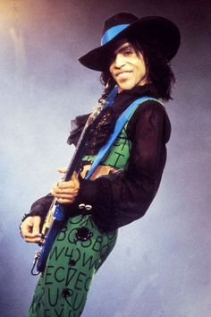 Prince - altogether, a living, breathing work of art.