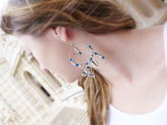 Boucles d'oreille créoles de style bohème : Boucles d'oreille par…