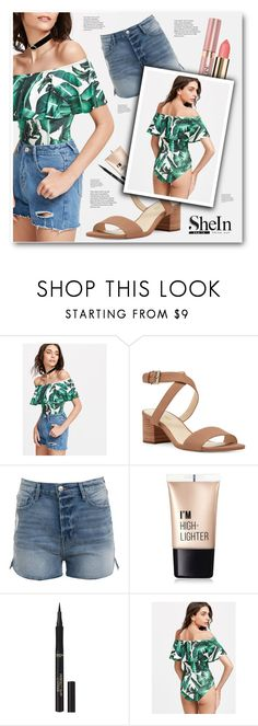 """shein"" by tux-vij ❤ liked on Polyvore featuring Nine West, L'Oréal Paris and Charlotte Russe"