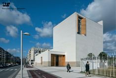 Iesu Church, San Sebastian, Spain by Rafael Moneo