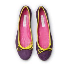 8557656aef8 Ballerina Shoes Violet Lemon I Love My Shoes