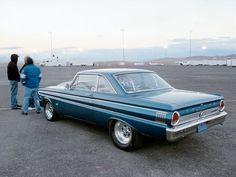 Ccrp 0608 02 Z+1964 Ford Falcon Futura+rear View