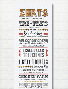 Typography Print Quote Print Parks and Recreation Tom par paperchat, $35.00