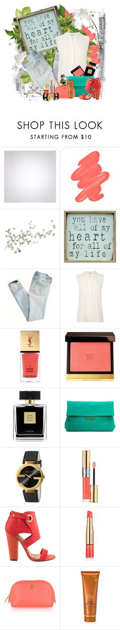 """""""My Heart"""" by jerzeygurl ❤ liked on Polyvore featuring Obsessive Compulsive Cosmetics, RoomMates Decor, Pink Marmalade, American Eagle Outfitters, L.K.Bennett, Yves Saint Laurent, Tom Ford, Avon, Sandra Cadavid and Gucci"""