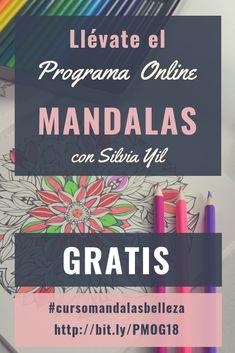 """Llévate Hoy mi Programa de Mandalas Online """"La Belleza"""" Gratis!! Sólo por unos días Participa Ahora! Tienes toda la información en el link!! Feng Shui, Eyeshadow, Cover, Books, Beauty, Link, Mandalas, Creativity, Opportunity"""