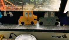 These little stand alone cars would make great greeting cards! You may need: Assorted construction paper White A4 paper Black A4 paper Crayons Glue sticks To start with fold in half a piece o…