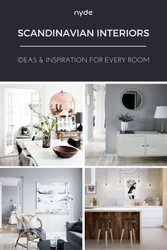 Scandinavian-inspired design shows no signs of slowing down – and it's a good thing too, because we LOVE this trend. The trick is to keep it simple, clean, and pared-down. We've written a full post on key Scandinavian elements, with ideas and inspiration for every room, here: https://nyde.co.uk/blog/scandinavian-interiors-ideas/?utm_source=Pinterest&utm_medium=Social&utm_campaign=Scandinavian%20Interiors
