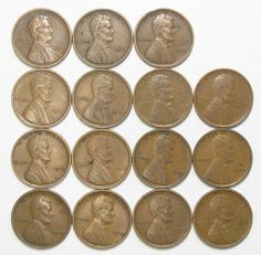 Lot of 15 1909 P 1c Lincoln Wheat Cent Pennies VF/VF+ w/Minor Problems #53215 …http://high-class-last-minute-offer.newoffers.info/buy/01/?query=301745691680 …