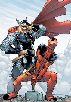 Thor and Deadpool
