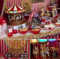 festa infantil circo, festa palhaço, festa circo vintage, circus party