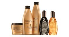 Diamond Oil Line by Redken. Strengthen's hair from the inside out! Adds fabulous shine to hair.