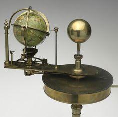 Orrery, Tellurium & Lunarium - Benjamin Martin, London, circa 1770 - Museum Victoria