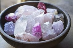 Cleansing Crystals Methods 1. Pass them through incense smoke. An easy way to rid any clinging energy from your crystals is to pass them through a stream of incense smoke. Not only does this method also cleanse your space, but you can re-charge your crystals for a new purpose at the same time. We recommend using frankincense for basic cleansing, benzoin resin for bringing calm, and dragon's blood for increasing energy vibrations.2. Dip them in charged water.Place them in a bowl of water c...