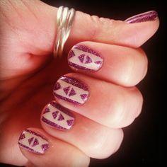 Nail Art with Zoya Nail Polish in Aurora!
