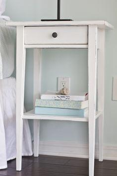 hemnes nightstand white stain hemnes fern and shelves