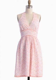 Beachside Embroidered Dress
