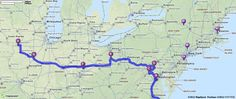 Driving Directions from Norfolk, Virginia to 4030 29th Ave, Rock Island, Illinois 61201   MapQuest
