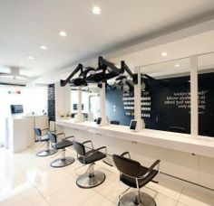 Colour Lab 12, Toronto, Ontario #design #interior #salon