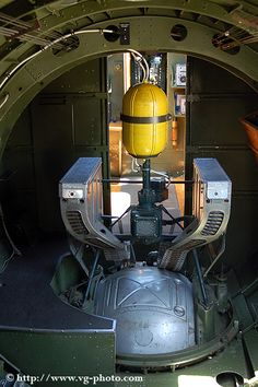 B-17 Flying Fortress Ball Turret Internal