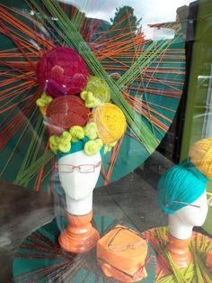 #eyewear #merchandising window display