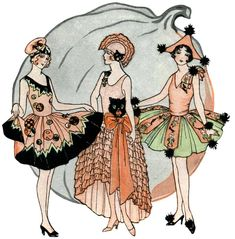 Beautiful Vintage 1920′s Halloween Costumes @ Vintage Fangirl